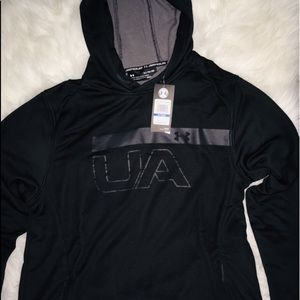 Under Armour Black Long Sleeve Hoodie Men's sz XL